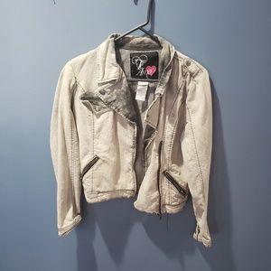 Jackets & Blazers - Grey denim jacket